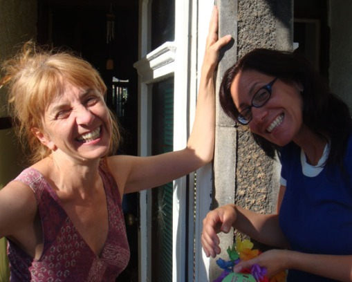 Kathy et Magali brainstorming