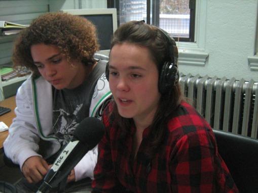 L'animation radiophonique par Pénélope et Roméo