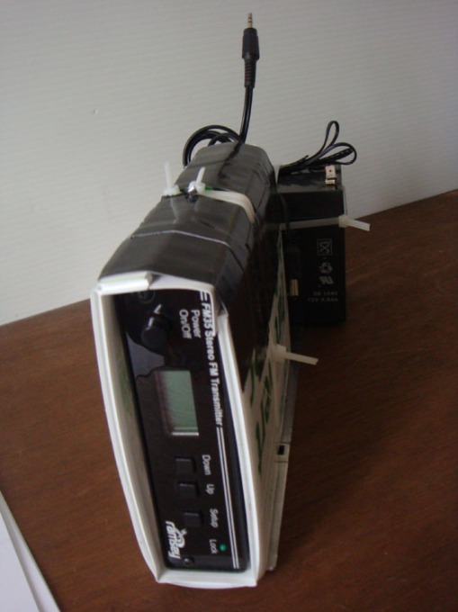 Ramsey FM35 Transmitter with Digital Readout