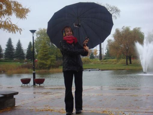 une parapluie qui chante par FM