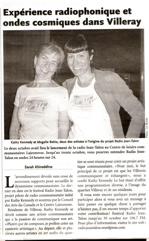 Kathy et Magali souriantes de créativité